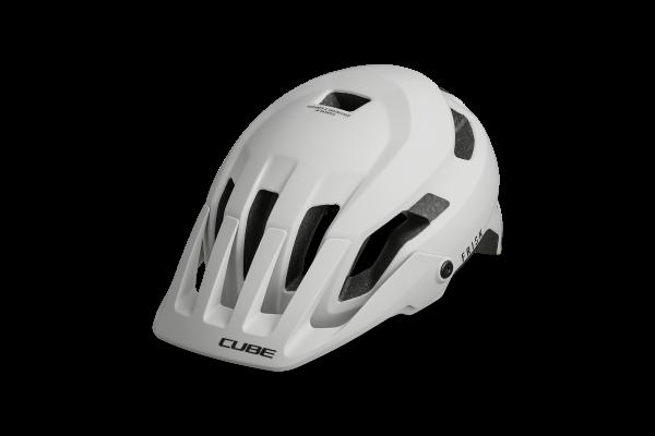 CUBE Helm FRISK Teamline grey´n´red´n´blue
