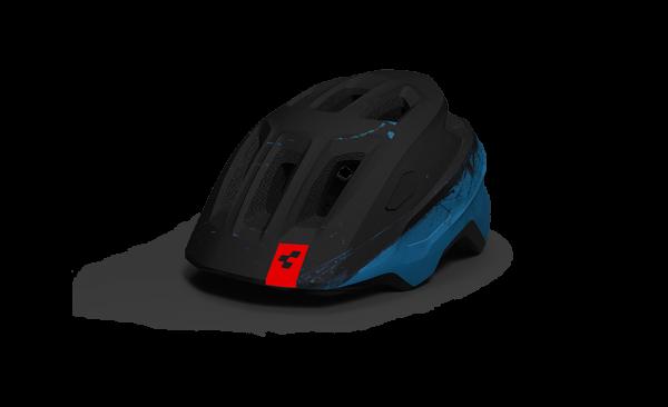CUBE Helm LINOK blue