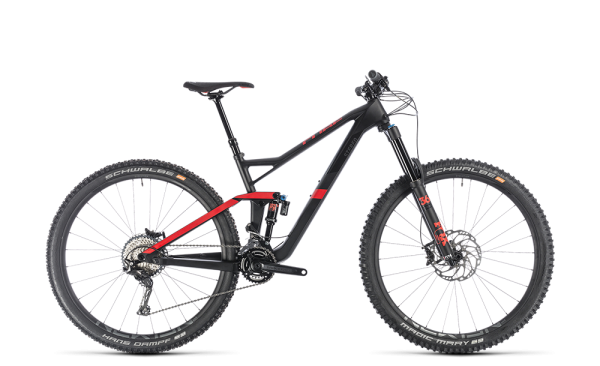 """Cube Stereo 150 C:62 Race carbon´n´red 2019 18"""" / 29"""