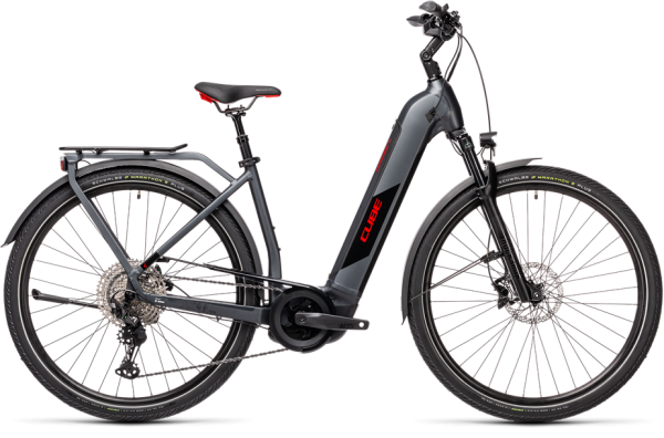 Cube Kathmandu Hybrid SL 625 iridium´n´red 2021 Easy Entry