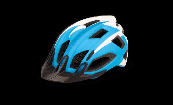 CUBE Helm QUEST blue´n´white´n´black XL (59-64)
