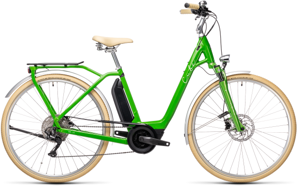 Cube Ella Ride Hybrid 500 applegreen´n´white 2021 Easy Entry