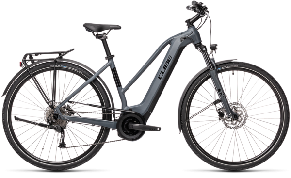 Cube Touring Hybrid ONE 625 grey´n´black 2021 Trapeze