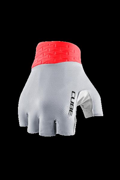 CUBE Handschuhe Performance kurzfinger grey´n´red