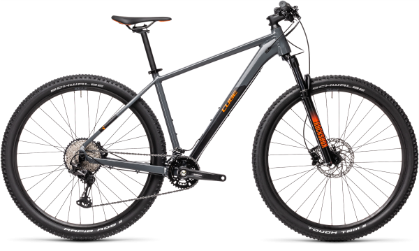 "Cube Race ONE grey´n´orange 2021 16"" / 27.5 / S"