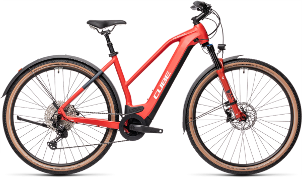 Cube Cross Hybrid Race 625 Allroad red´n´grey 2021 Trapeze