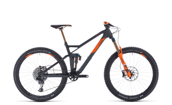 Cube Stereo 140 HPC TM grey´n´orange 2020 / 27.5