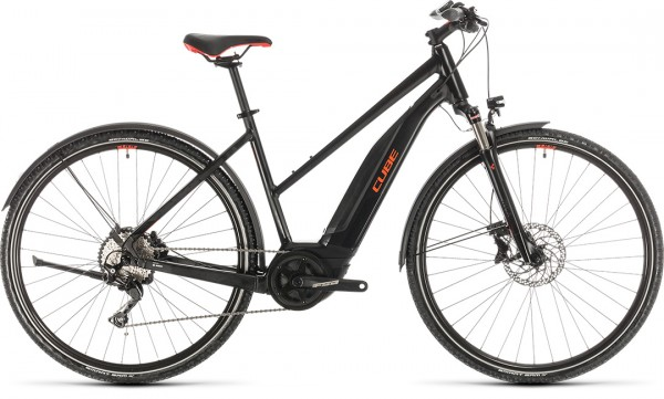 Cube Nature Hybrid EXC 500 Allroad black´n´red 2020 Trapeze 54 cm
