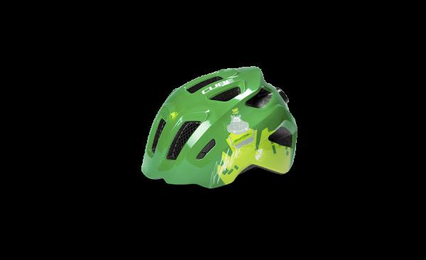 CUBE Helm FINK green XXS (44-49)