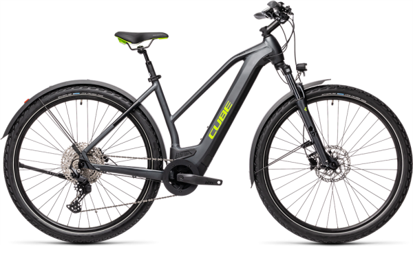 Cube Cross Hybrid Pro 625 Allroad iridium´n´green 2021 Trapeze