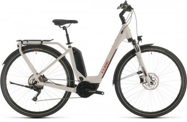 Cube Touring Hybrid Pro 500 grey´n´red 2020 Easy Entry