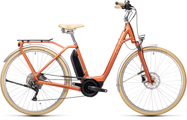 Cube Ella Ride Hybrid 500 red´n´grey 2021 Easy Entry