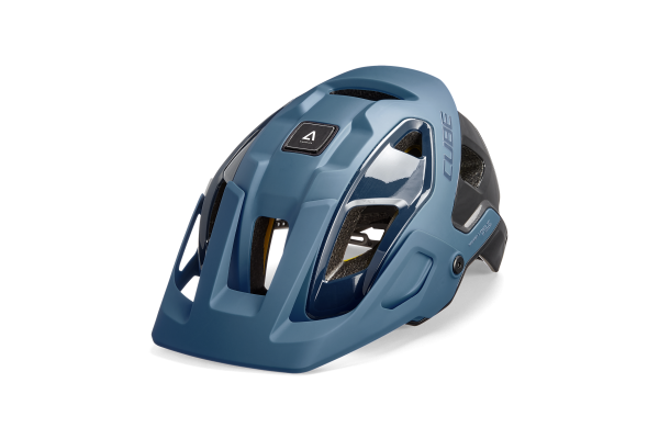 CUBE Helm STROVER blue L (57-62)