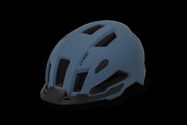 CUBE Helm EVOY HYBRID blue