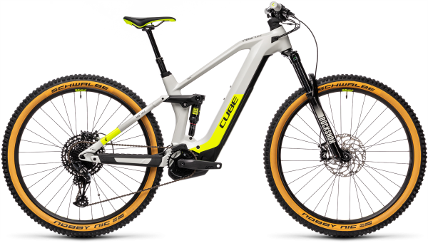 Cube Stereo Hybrid 140 HPC Race 625 grey´n´yellow 2021 / 29