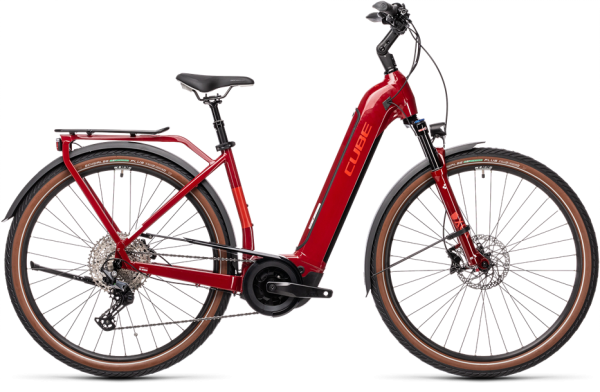 Cube Touring Hybrid EXC 500 red´n´grey 2021 Easy Entry