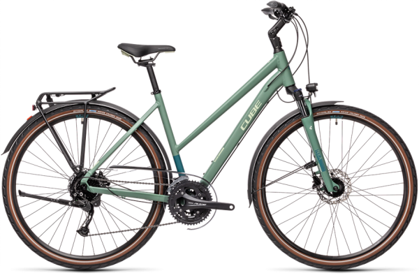 Cube Touring EXC greenblue´n´bluegreen 2021 Trapeze