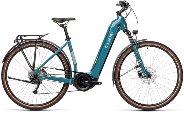 Cube Touring Hybrid ONE 500 blue´n´green 2021 Easy Entry