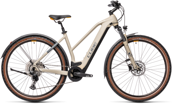 Cube Cross Hybrid Pro 625 Allroad desert´n´orange 2021 Trapeze