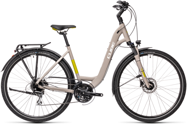 Cube Touring Pro grey´n´green 2021 Easy Entry