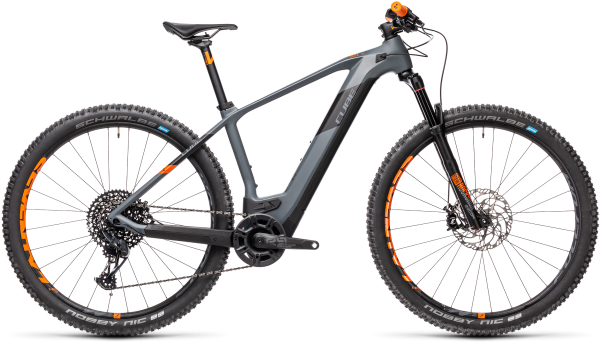 Cube Elite Hybrid C:62 Race 625 grey´n´orange 2021 / 29