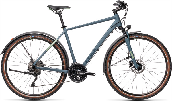 Cube Nature Pro Allroad blue´n´green 2021