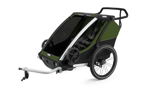 Thule Chariot Cab2 CypresGreen