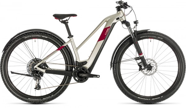 Cube Access Hybrid EX 625 Allroad titan´n´berry 2020 Trapeze / 29