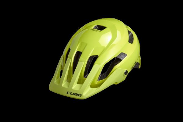 CUBE Helm FRISK lime