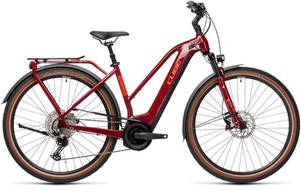 Cube Touring Hybrid EXC 500 red´n´grey 2021 Trapeze