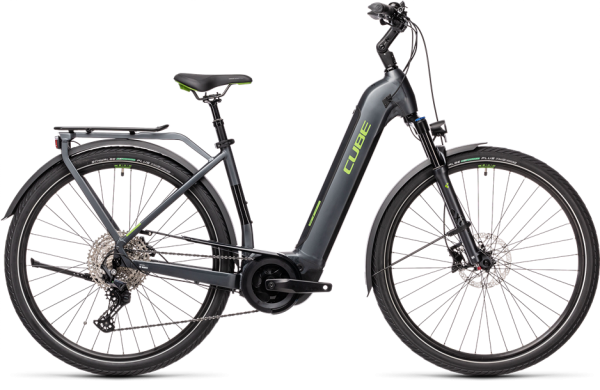 Cube Touring Hybrid EXC 500 iridium´n´green 2021 Easy Entry