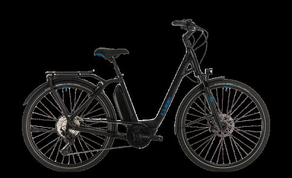 Cube Town Sport Hybrid EXC 500 black´n´blue 2020 Easy Entry 46 cm