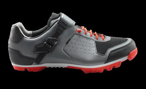 CUBE Schuhe MTB PEAK PRO grey´n´cherry tomato