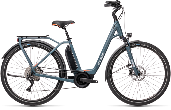 Cube Town Sport Hybrid Pro 500 blue´n´red 2021 Easy Entry