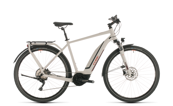 Cube Touring Hybrid Pro 500 grey´n´red 2020 58 cm