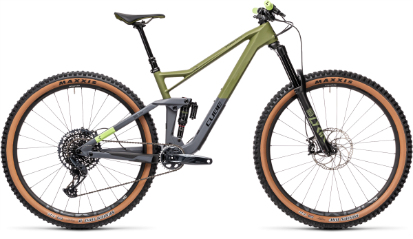 Cube Stereo 150 C:62 Race olive´n´grey 2021 / 29