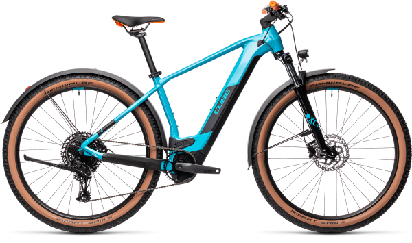 Cube Reaction Hybrid Pro 625 Allroad petrol´n´orange 2021 / 29