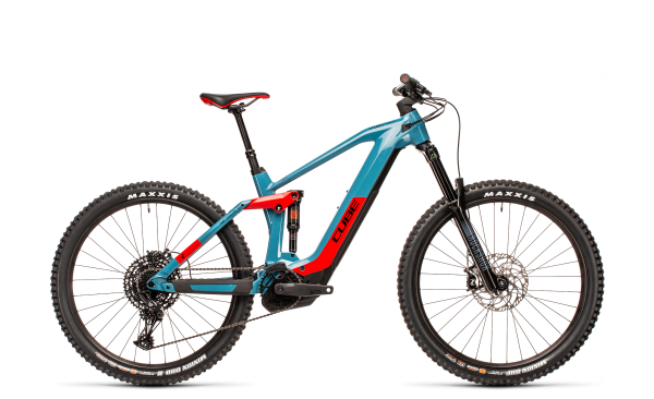 Cube Stereo Hybrid 160 HPC Race 625 blue´n´red 2021 / 27.5