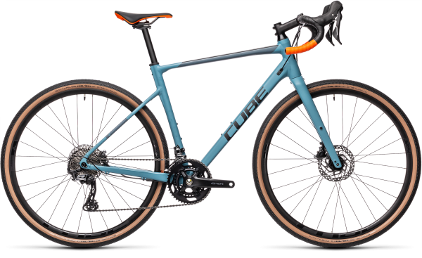 Cube Nuroad Race greyblue´n´orange 2021