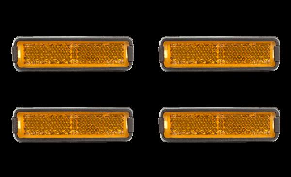 RFR Pedalreflektor Set orange