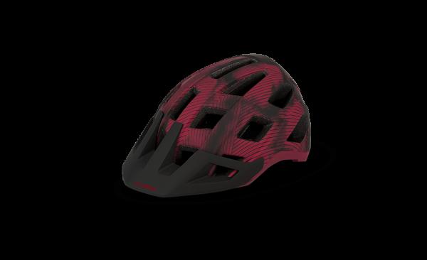 CUBE Helm BADGER red L (59-63)