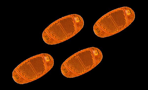 RFR Speichenreflektor Set CMPT orange