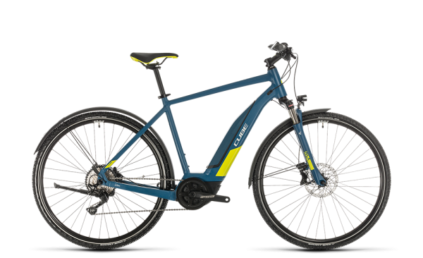 Cube Nature Hybrid EXC 500 Allroad blue´n´lime 2020 62 cm