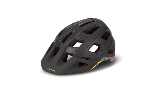 CUBE Helm BADGER black´n´splash L (59-63)