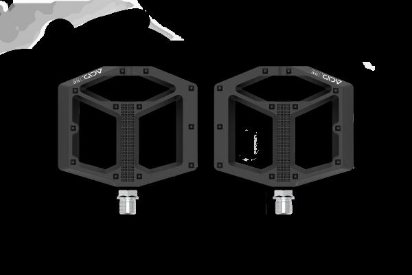 ACID Pedale FLAT C2-CC black