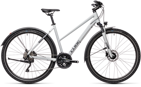 Cube Nature Pro Allroad grey´n´iridium 2021 Trapeze