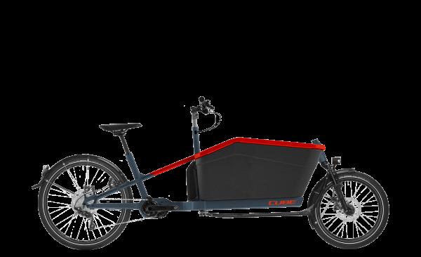 """Cube Cargo Sport Dual Hybrid 2020 blue´n´red 20"""" / 27,5"""" M"""