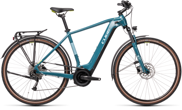 Cube Touring Hybrid ONE 625 blue´n´green 2021