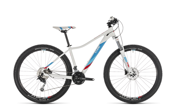 """Cube Access WS Pro white´n´blue 2019 17"""" / 29"""