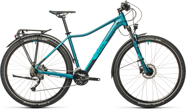 Cube Access WS Pro Allroad stoneblue´n´blue 2021 / 27.5